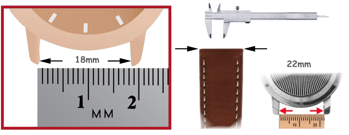 Pulseiras de couro relógios ferramentas para relojoeiro
