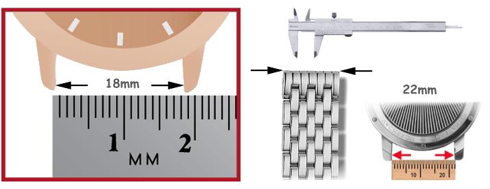 Pulseiras de metal relógios ferramenta para relojoeiros Bergeon
