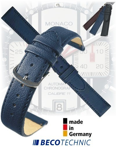 Pulseira de relógio NAPPA AZUL ESCURO aço 12mm