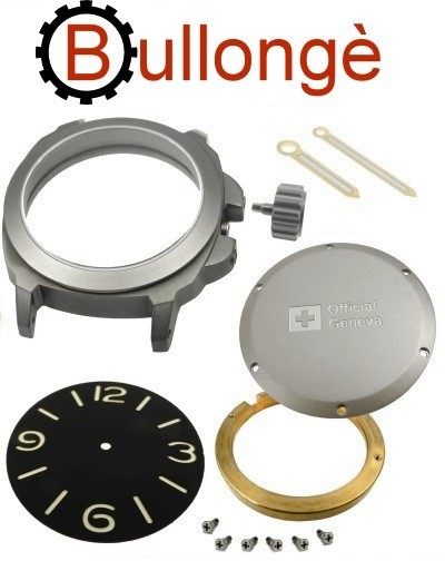 Kit de relogio BULLONGÈ No. 5 MILITARY para ETA 2824